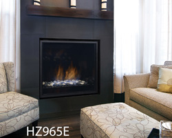 Natural Gas & Propane Powered Built-In Fireplaces | Hudsonville MI